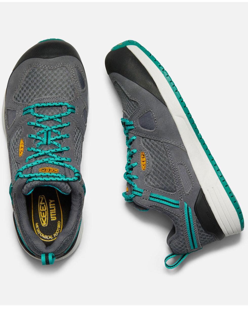 Keen Women's Springfield Work Shoes - Aluminum Toe, Grey, hi-res