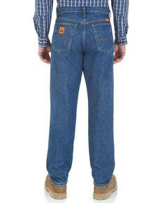 Wrangler Men's Flame Resistant Relaxed Fit Jeans , Indigo, hi-res