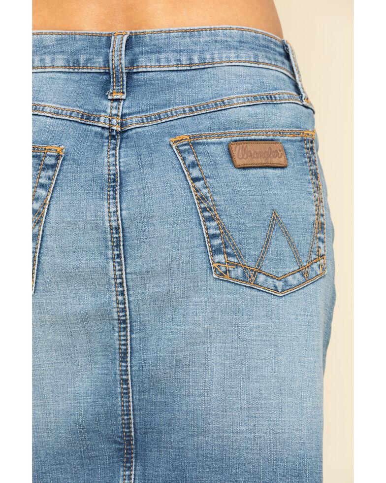 Wrangler Retro Women's Light Wash Hailey Skirt, Blue, hi-res