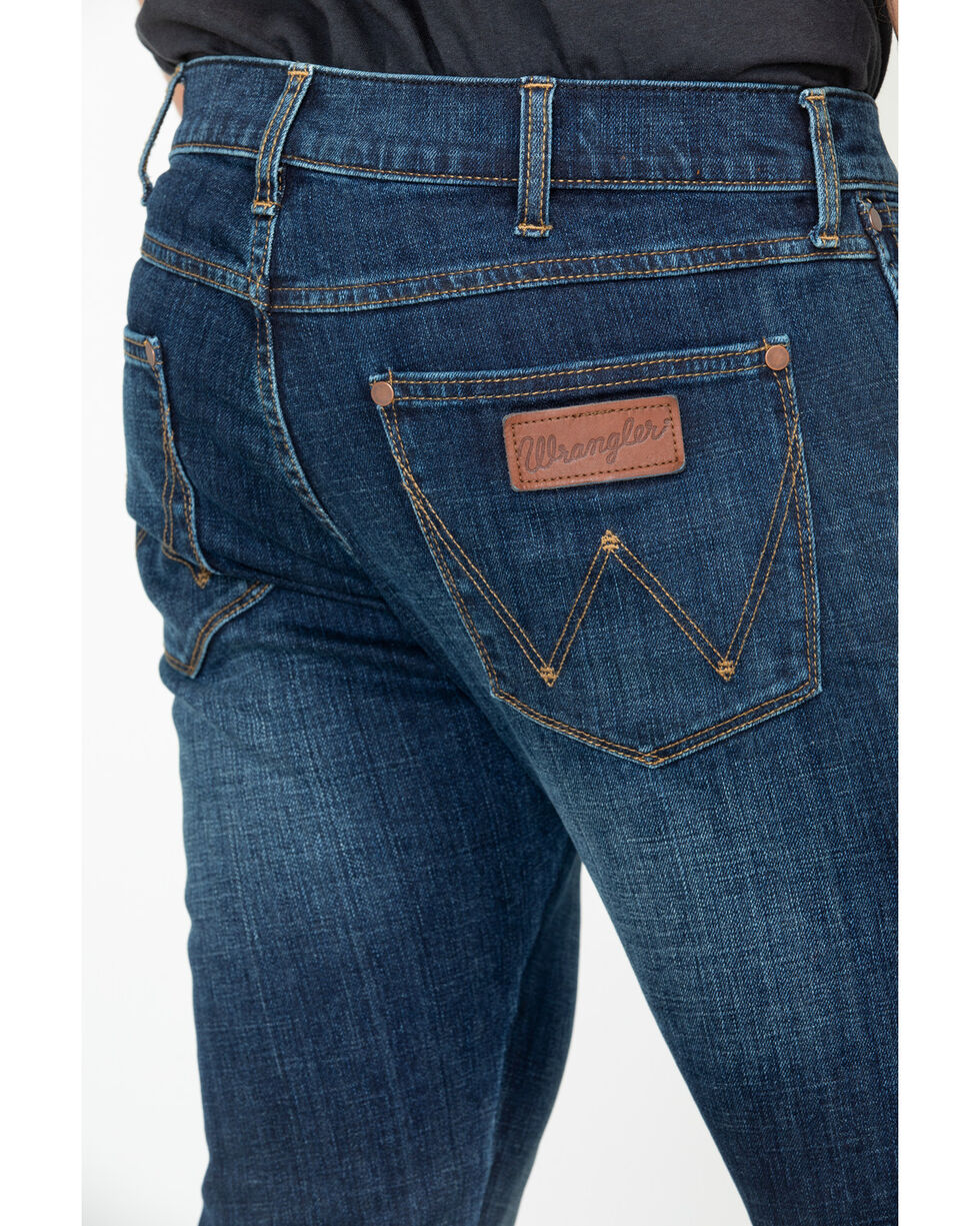 Wrangler Retro Men's Anderson Low Rise Skinny Jeans , Blue, hi-res