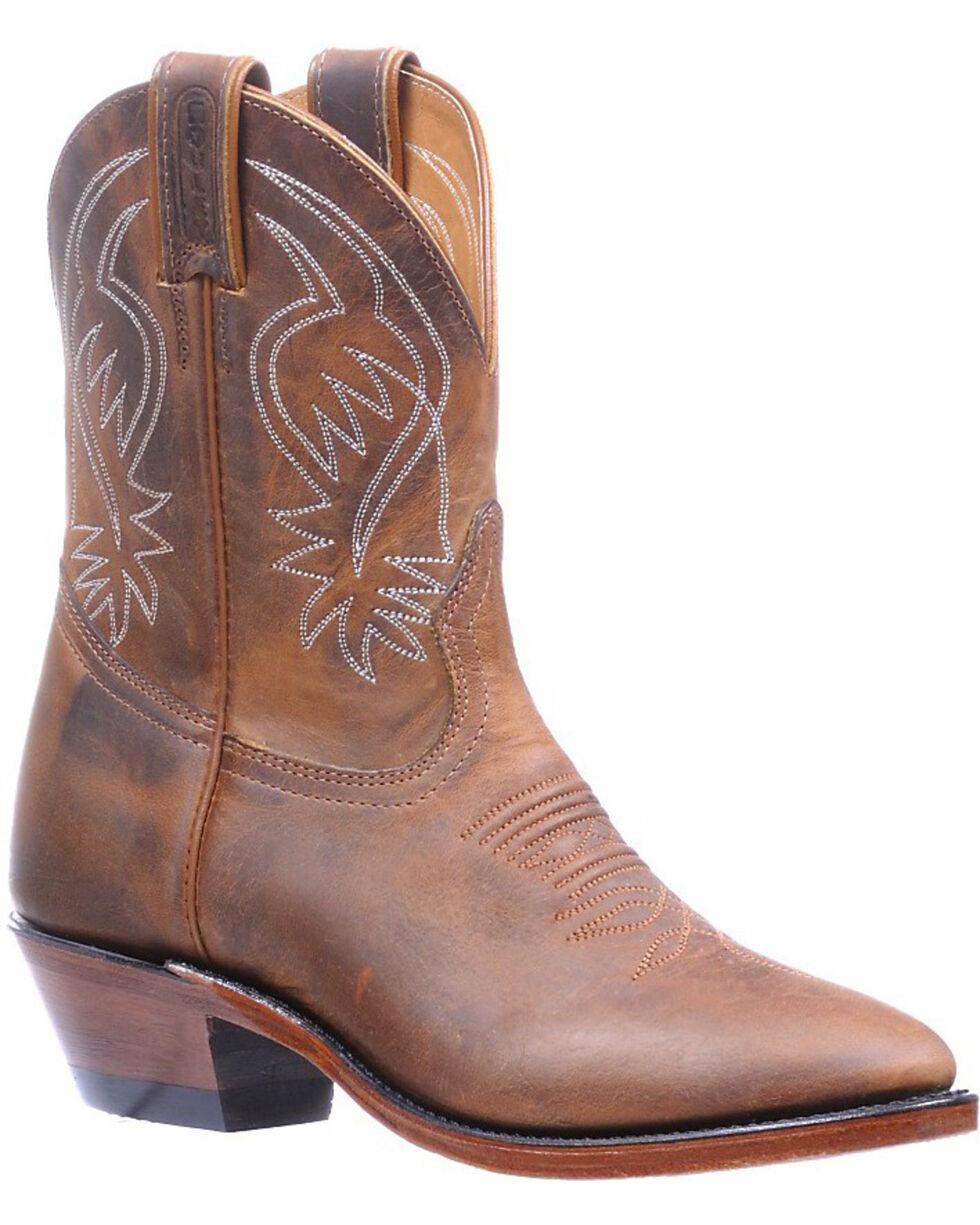 Boulet Hillbilly Golden Boots - Round Toe , Tan, hi-res
