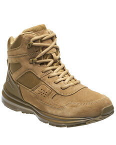 Bates Men's Mid Raide Work Boots - Soft Toe, Olive, hi-res