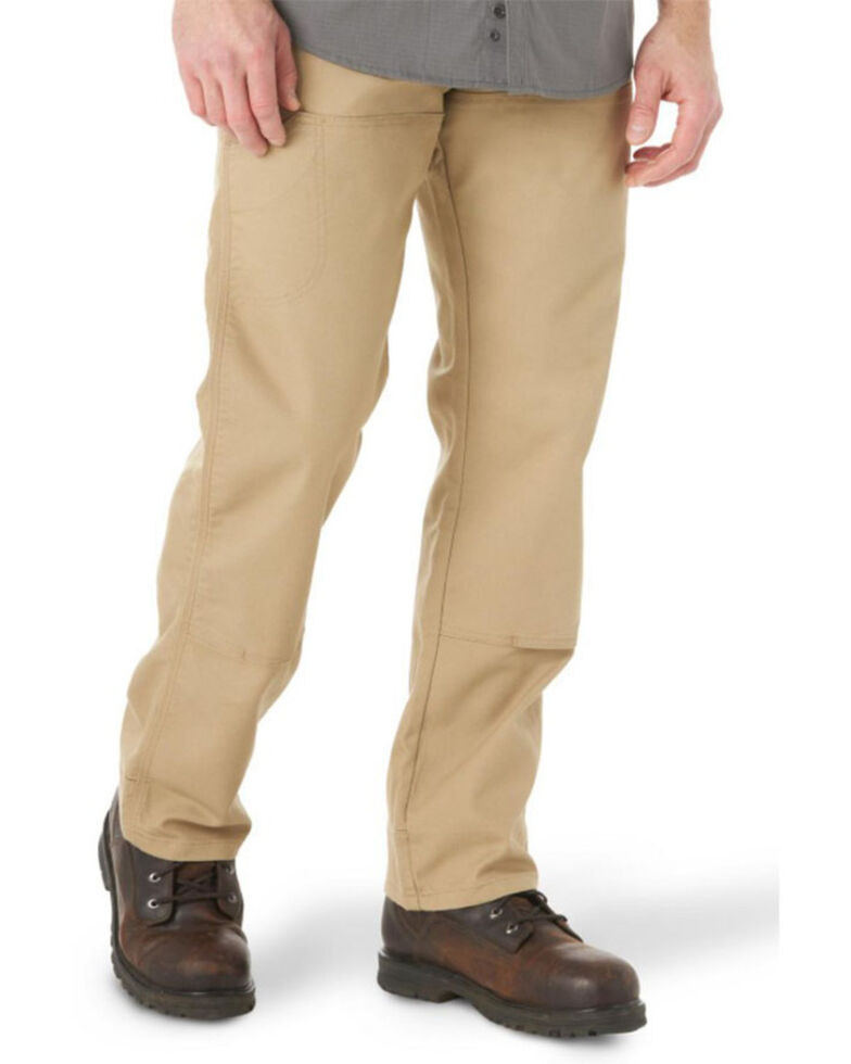 Wrangler Riggs Men's Ranger Stretch Straight Work Pants , Loden, hi-res