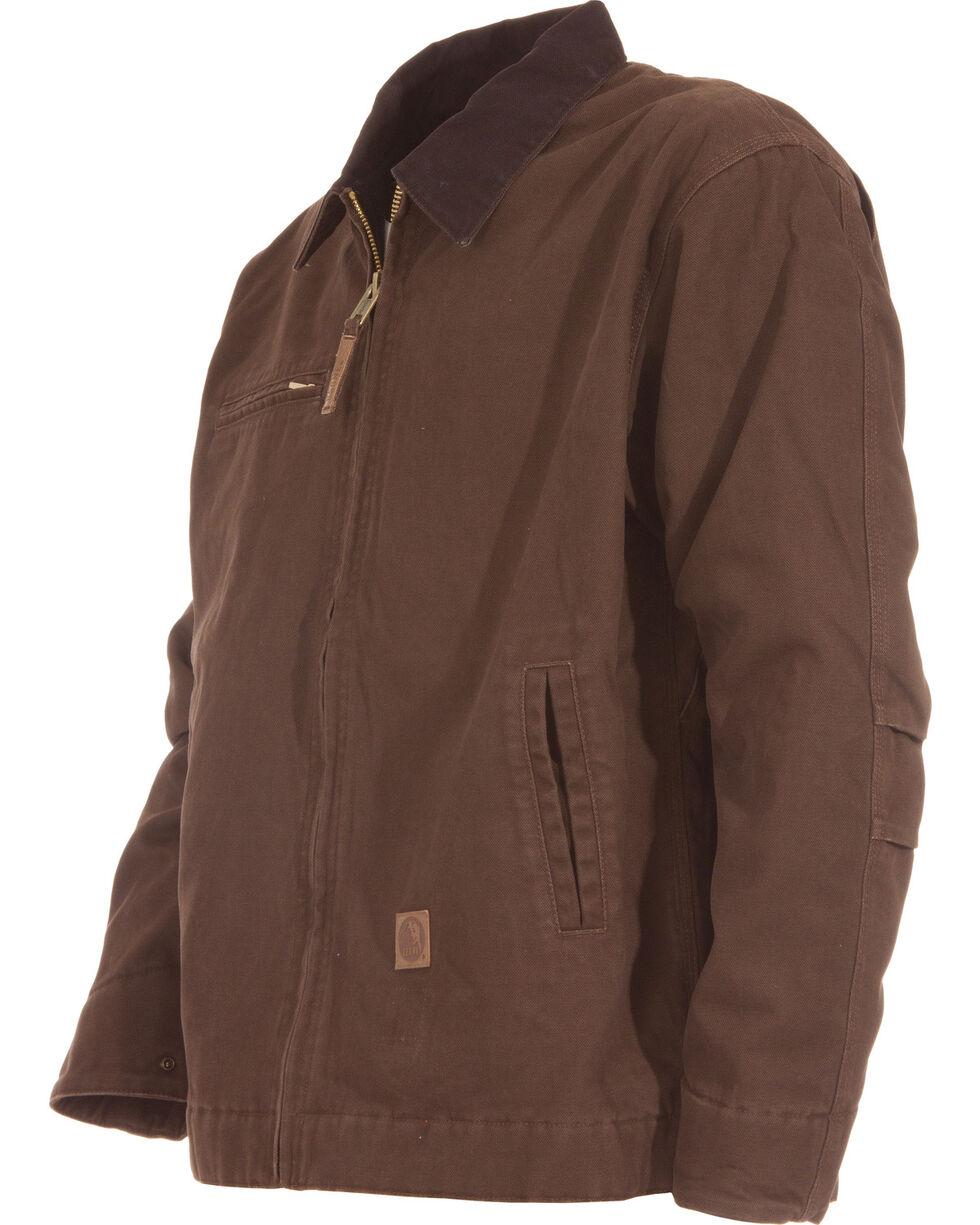 Berne Original Washed Gasoline Jacket, Bark, hi-res