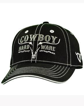 Cowboy Hardware Infant & Toddler Boys' Black Ghost Steer Cap, Black, hi-res