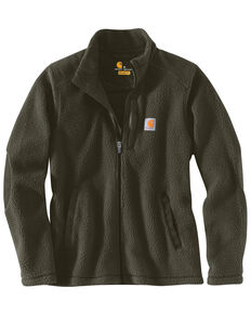 Carhartt Women's Yorklyn Mock Neck Full-Zip Jacket , Olive, hi-res