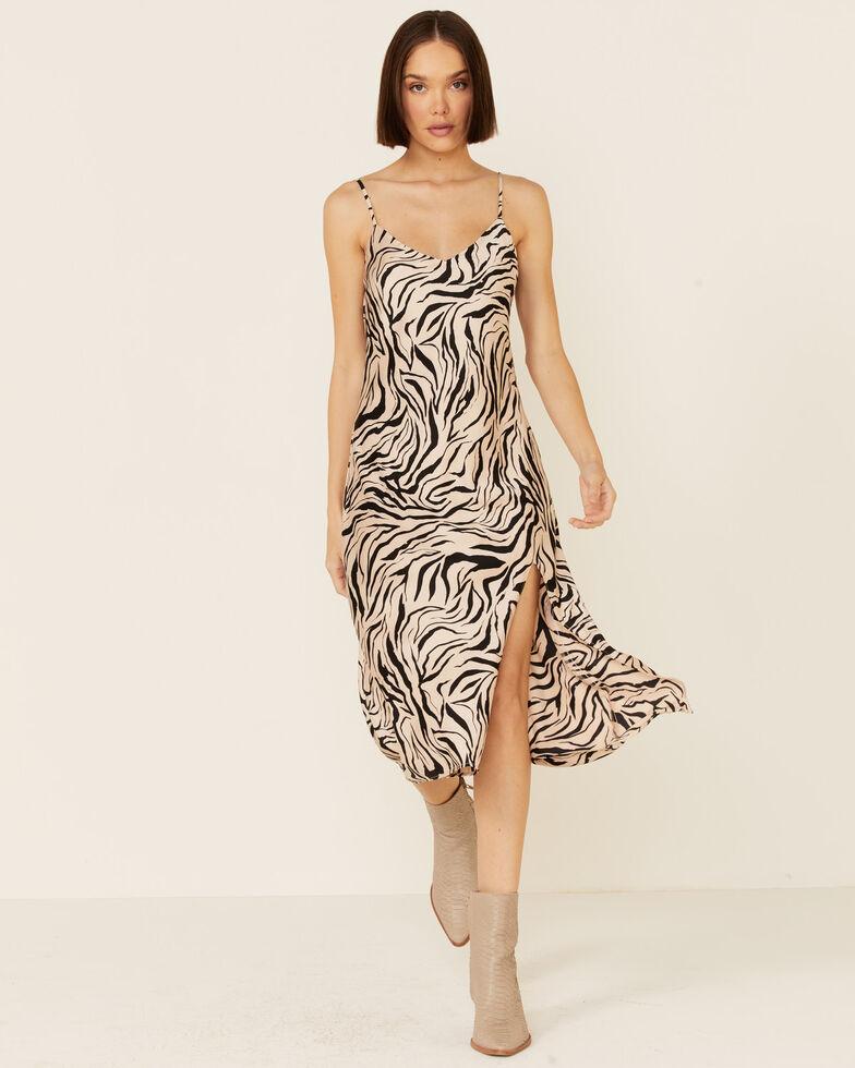 Show Me Your Mumu Women's Zio Zebra Print Dress, Multi, hi-res