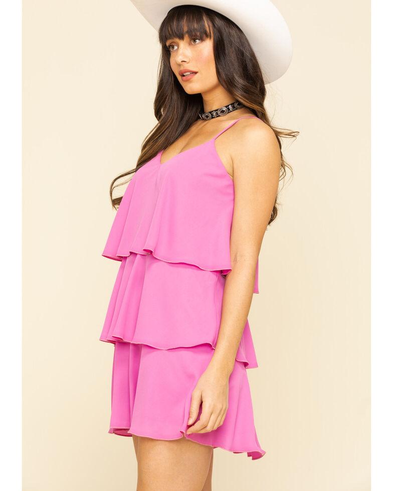 Show Me Your Mumu Women's Suarez Ruffle Dress, Pink, hi-res