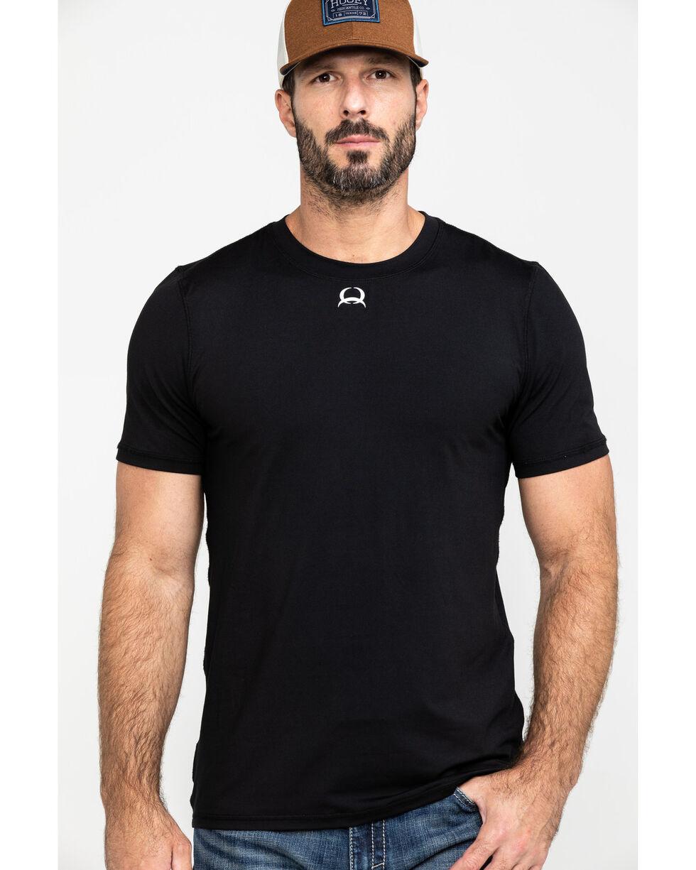 Cinch Men's Athletic Under Shirt, Black, hi-res