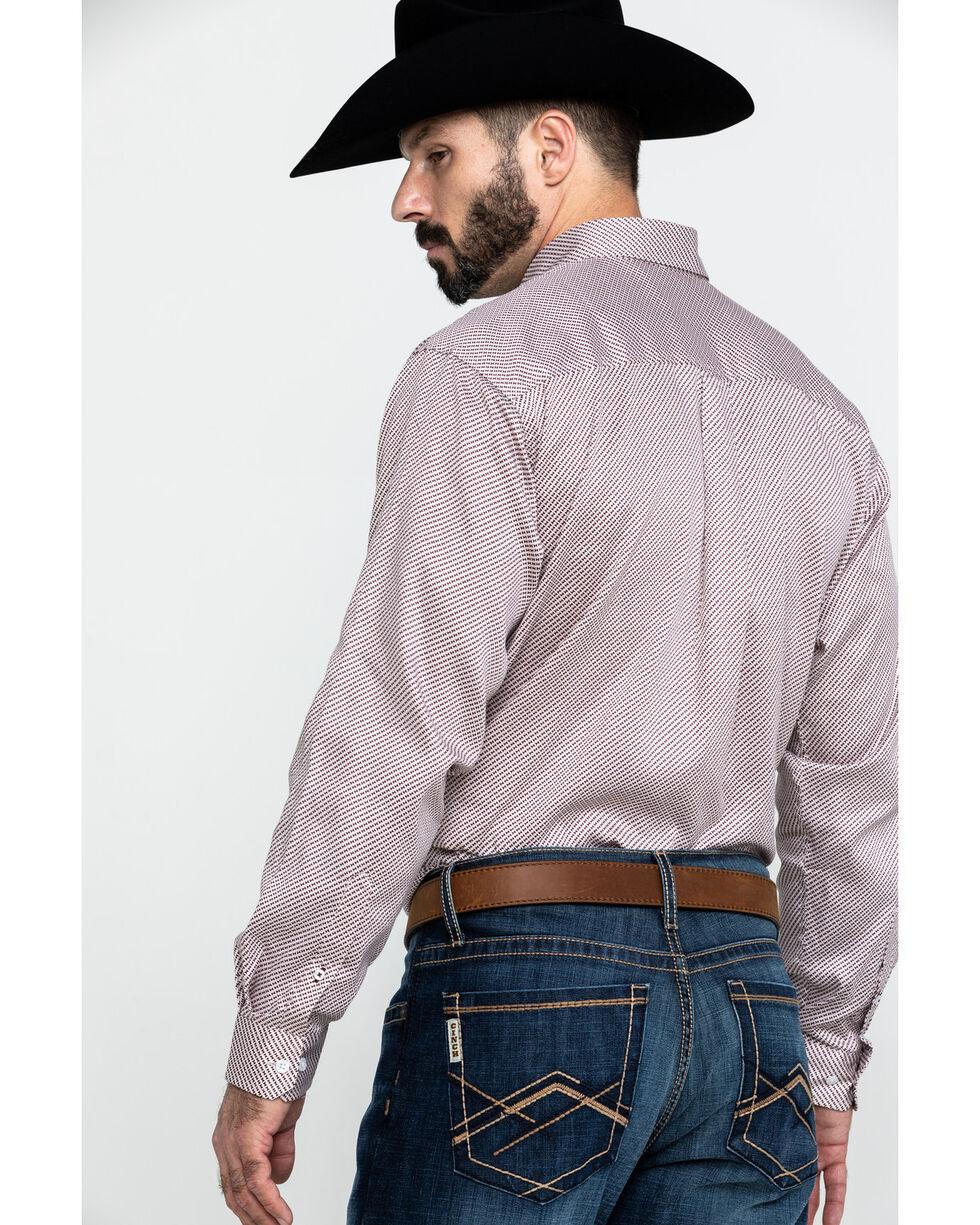Cinch Men's Tencel Geo Print Long Sleeve Western Shirt , Multi, hi-res