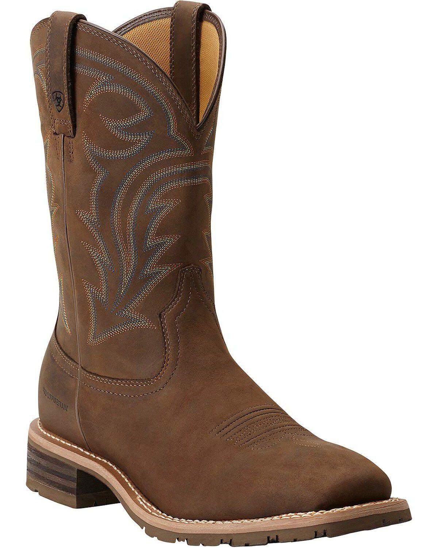 Ariat Men\u0027s Waterproof Hybrid Rancher Boots