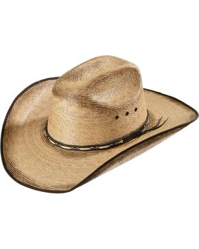 Jason Aldean By Resistol Kid's Amarillo Sky Palm Cowboy Hat, Tan, hi-res