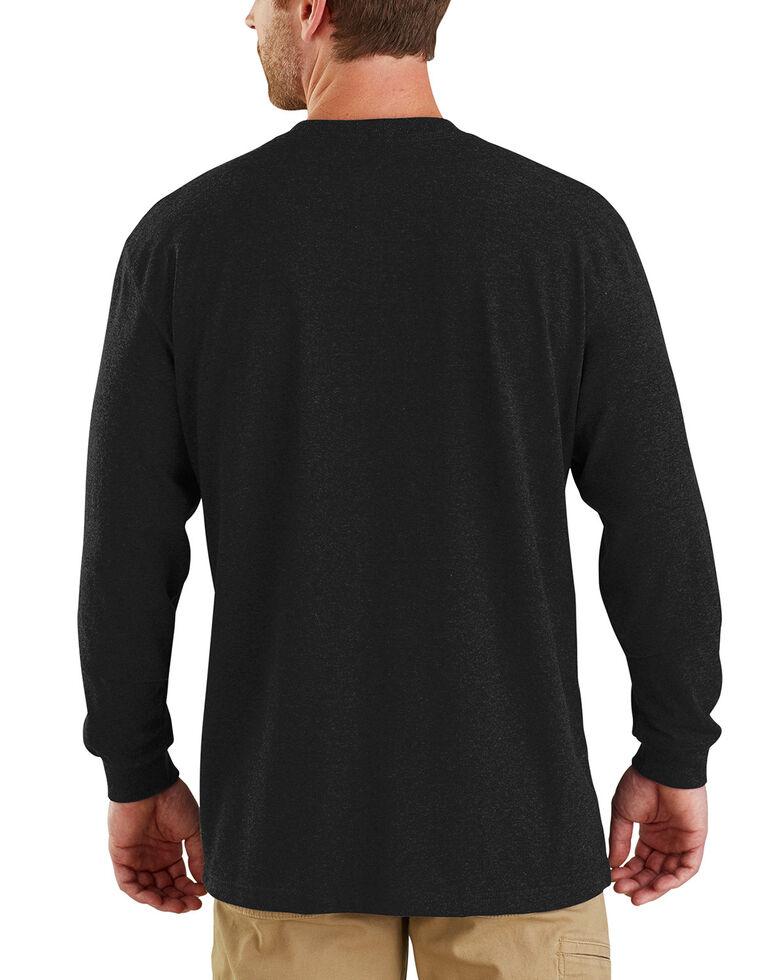 5912eae1b6a Carhartt Men s Workwear Block Logo Long Sleeve T-Shirt - Big