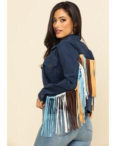 Ariat Women's Indigo Tribal Jacket, Indigo, hi-res