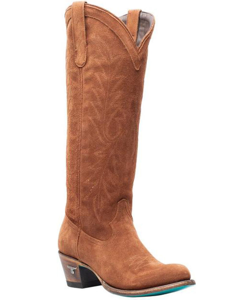 Lane Women's Brown Fire Away Western Boots - Round Toe, Brown, hi-res