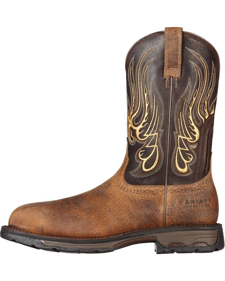 b653993e45f Ariat Men's Workhog Mesteno Comp Toe Western Work Boots