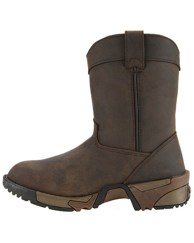 Rocky Kid's Aztec Hunting Boots, Brown, hi-res