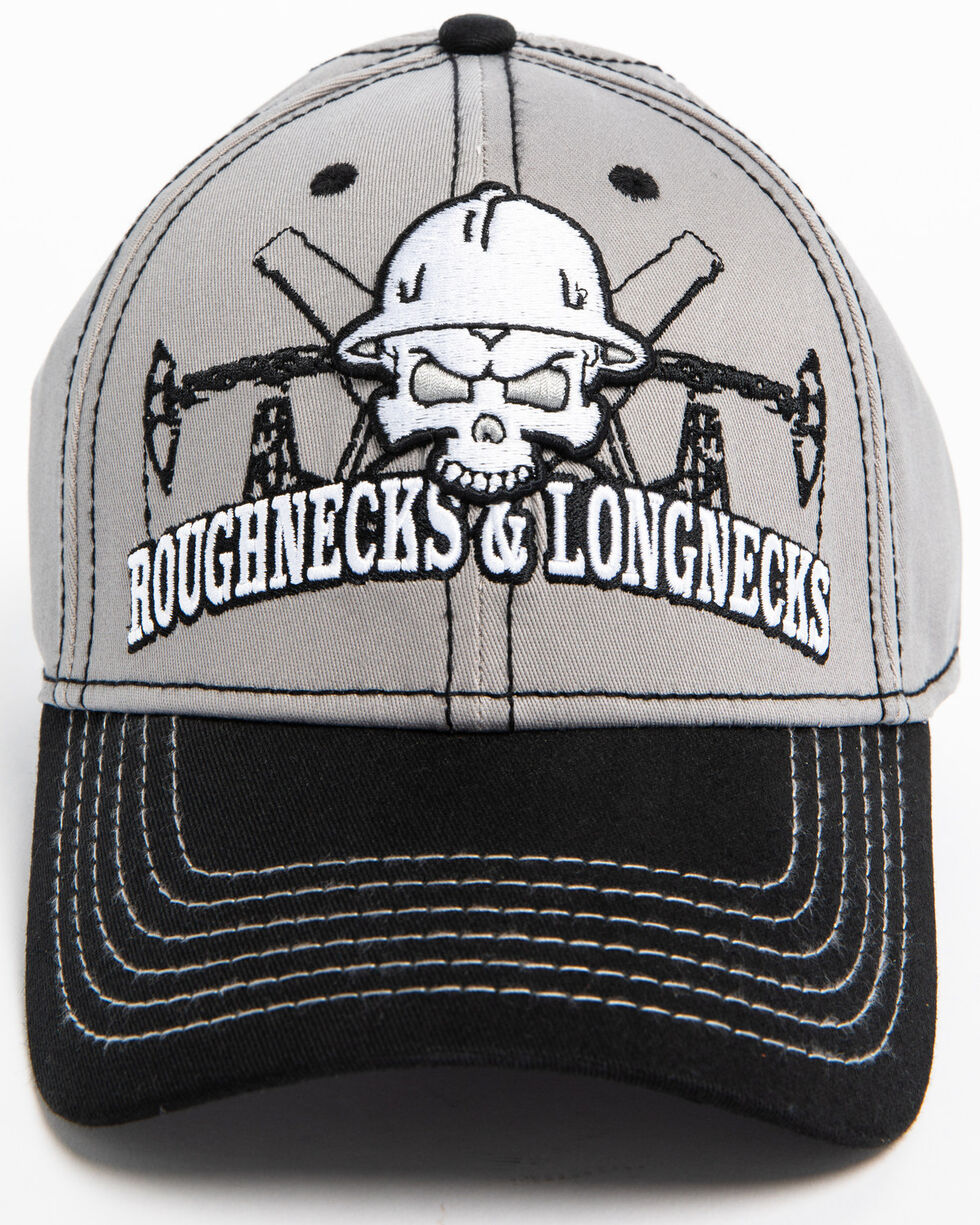 Cowboy Hardware Men's Roughnecks and Locknecks Cap, Grey, hi-res