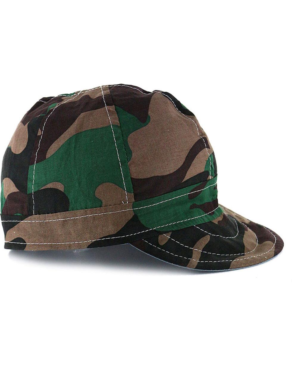 American Worker Men's Camo Welding Cap, Camouflage, hi-res