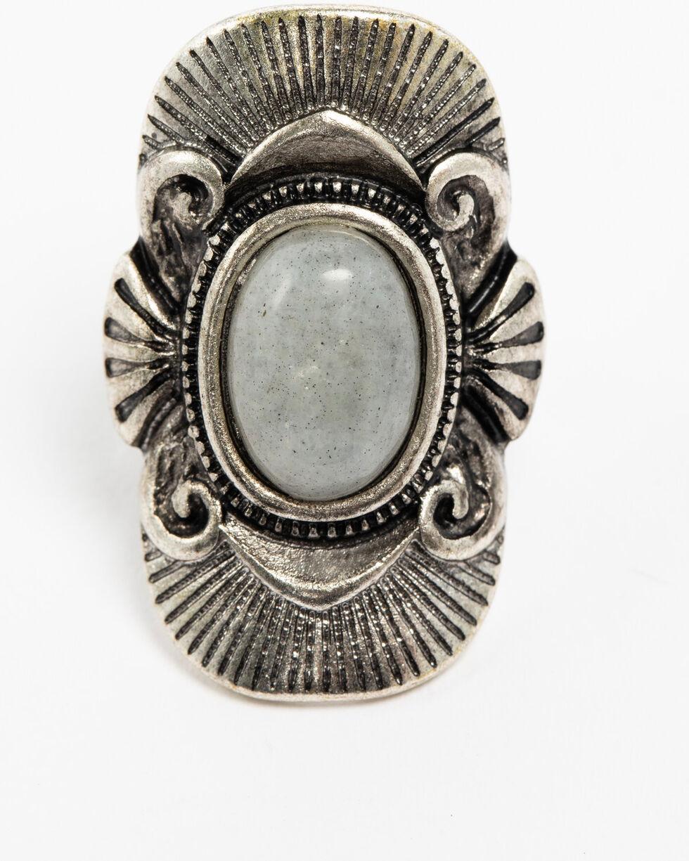 Shyanne Women's Slate Sparkle Statement Stone Ring, Slate, hi-res