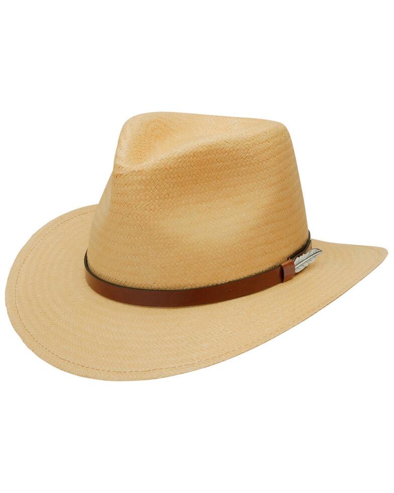 Black Creek Men's Wheat Toyo Straw Hat, Wheat, hi-res
