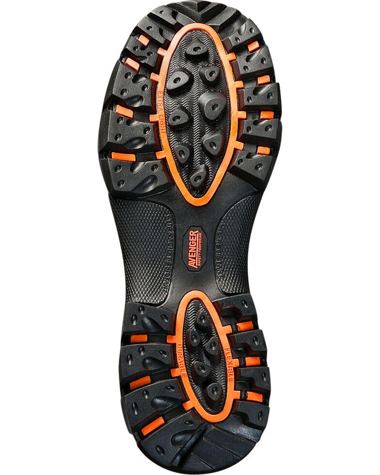 Avenger Men's Composite Toe Lace Up Work Boots, Brown, hi-res