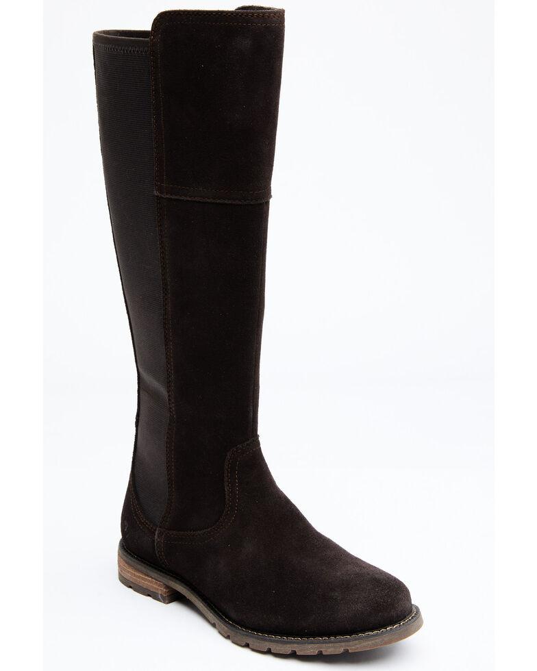 Ariat Women's Chocolate Sutton H20 Boots - Round Toe , Chocolate, hi-res