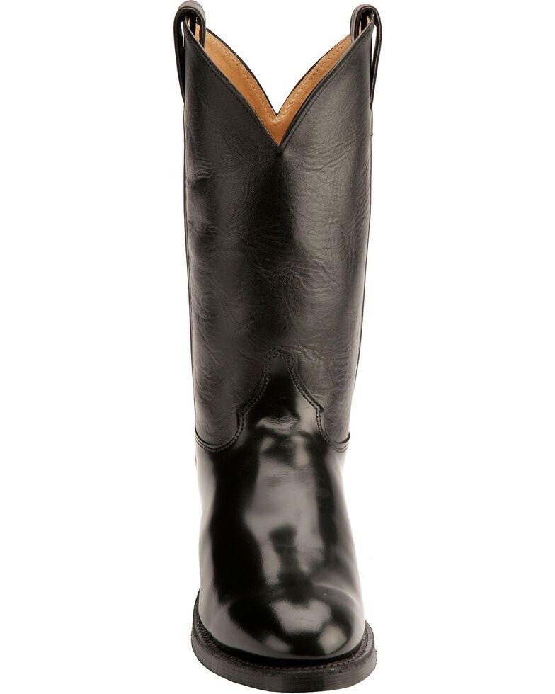 "Justin Men's 12"" Western Boots, Black, hi-res"