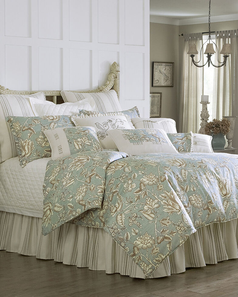 HiEnd Accents Multi Gramercy Four Piece Queen Comforter Set, Multi, hi-res