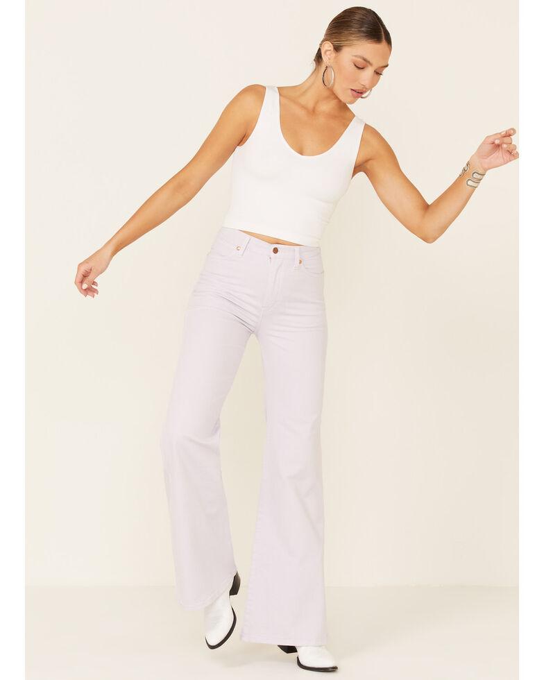 Wrangler Women's Lavender Wanderer Flare Jeans, Lavender, hi-res
