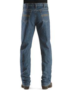 Cinch Men's Silver Label Slim Fit Jeans, Indigo, hi-res