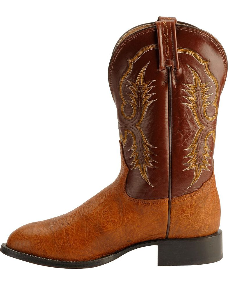 "Tony Lama Men's Stockman 11"" Western Boots, Brit Tan, hi-res"