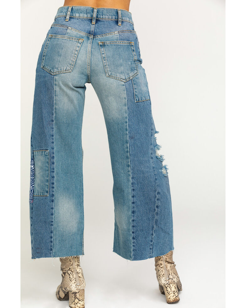 Free People Women's Heart of Gold Jeans, Blue, hi-res