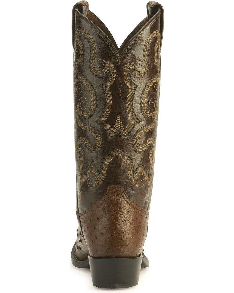 """Tony Lama Men's 13"""" Exotic Western Boots, Coffee, hi-res"""