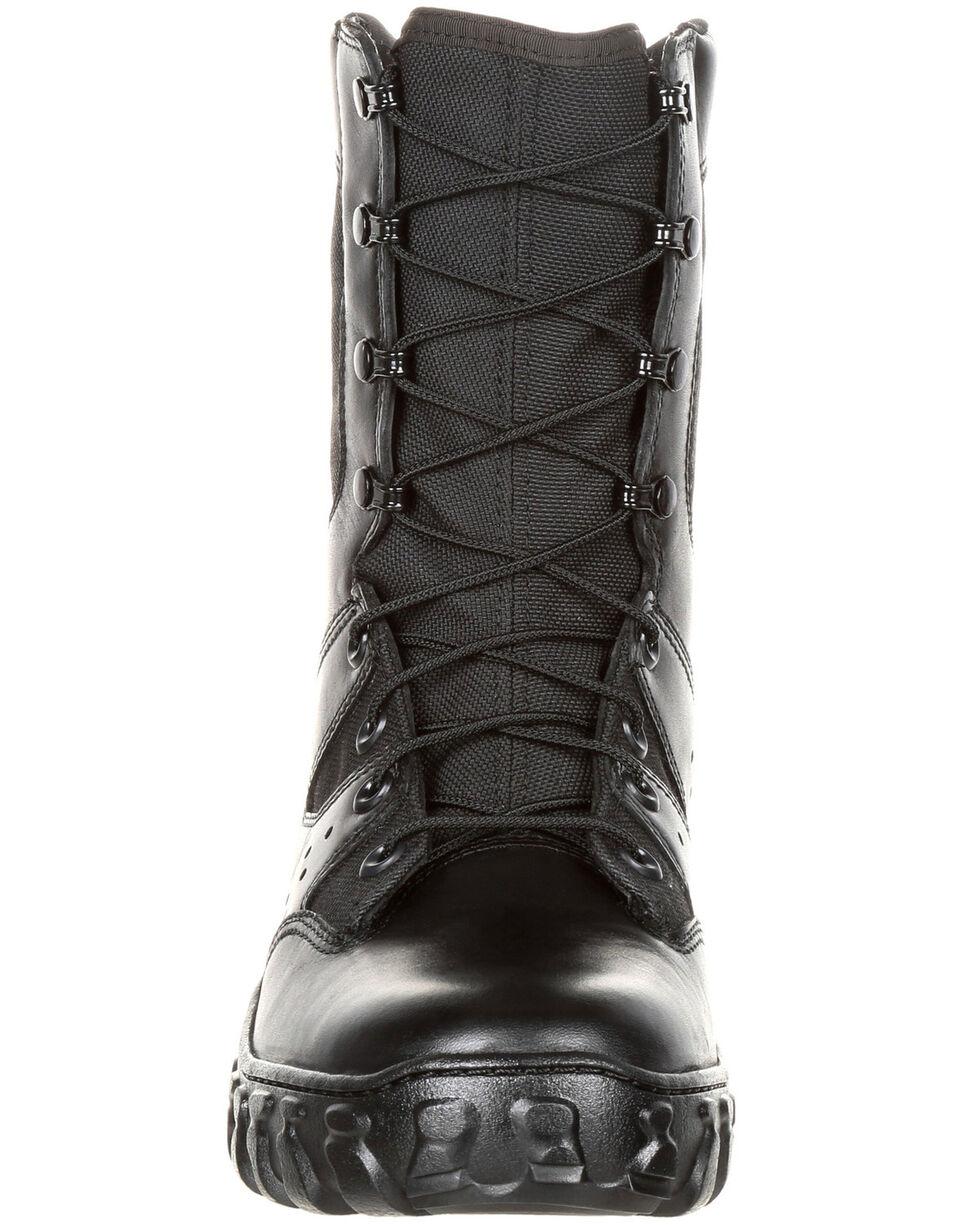 Rocky Men's Predator Duty Boots - Round Toe, Black, hi-res
