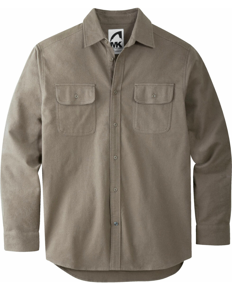 Mountain Khakis Men's Dark Olive Ranger Chamois Shirt, Olive, hi-res