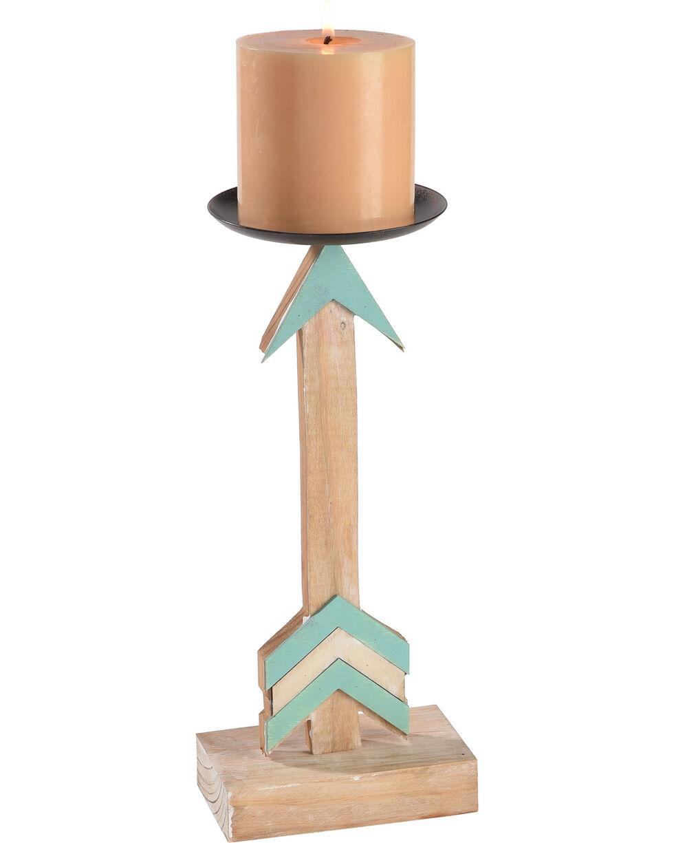 BB Ranch Arrow Candle Holder, No Color, hi-res