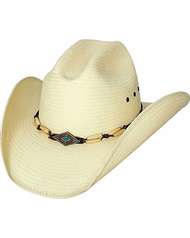 Bullhide Women's If You Want Fire Straw Hat, Natural, hi-res
