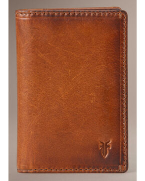 Frye Men's Logan Small Wallet, Cognac, hi-res