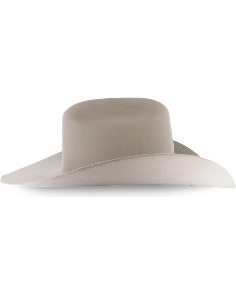 Rodeo King Men's Rodeo 7X Felt Cowboy Hat, Cream, hi-res