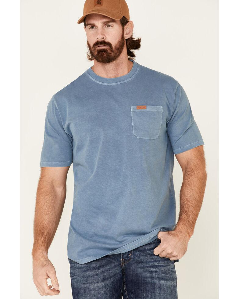 Pendleton Men's Blue Deschutes Short Sleeve Pocket T-Shirt , Blue, hi-res