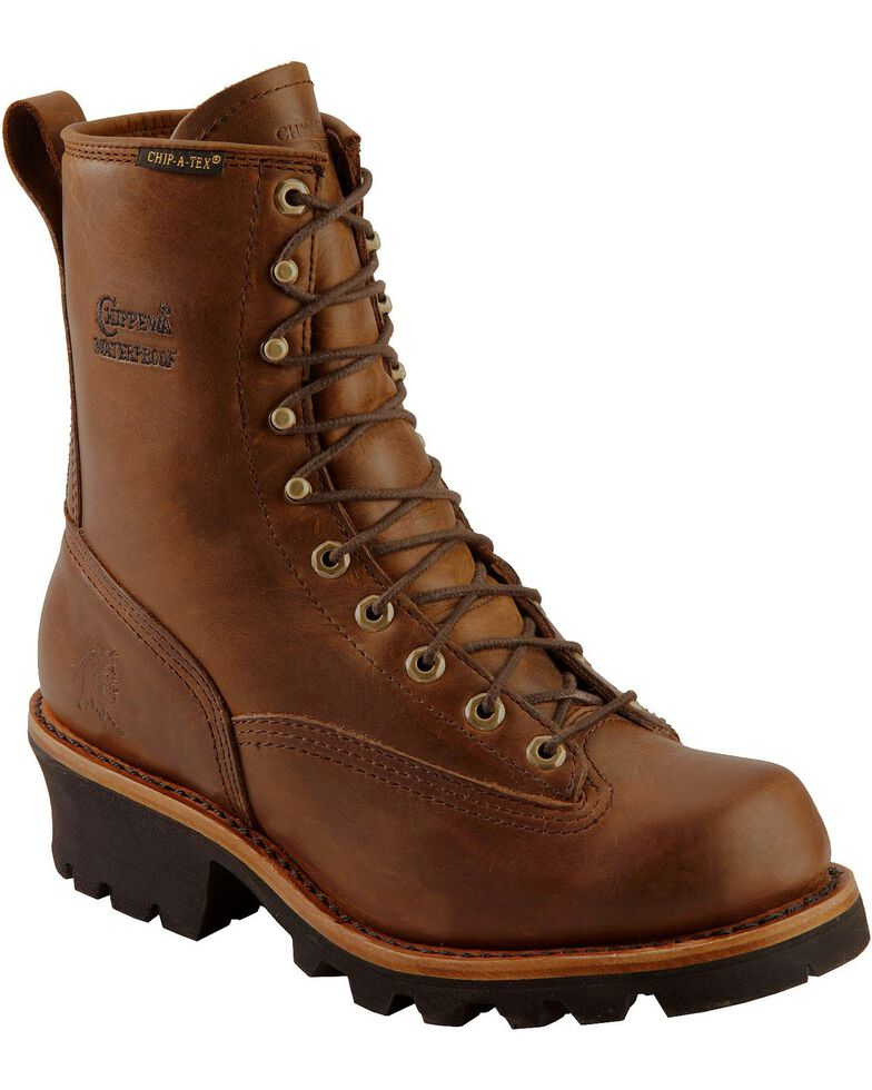 Chippewa Men S Steel Toe 8 Quot Logger Work Boots Boot Barn