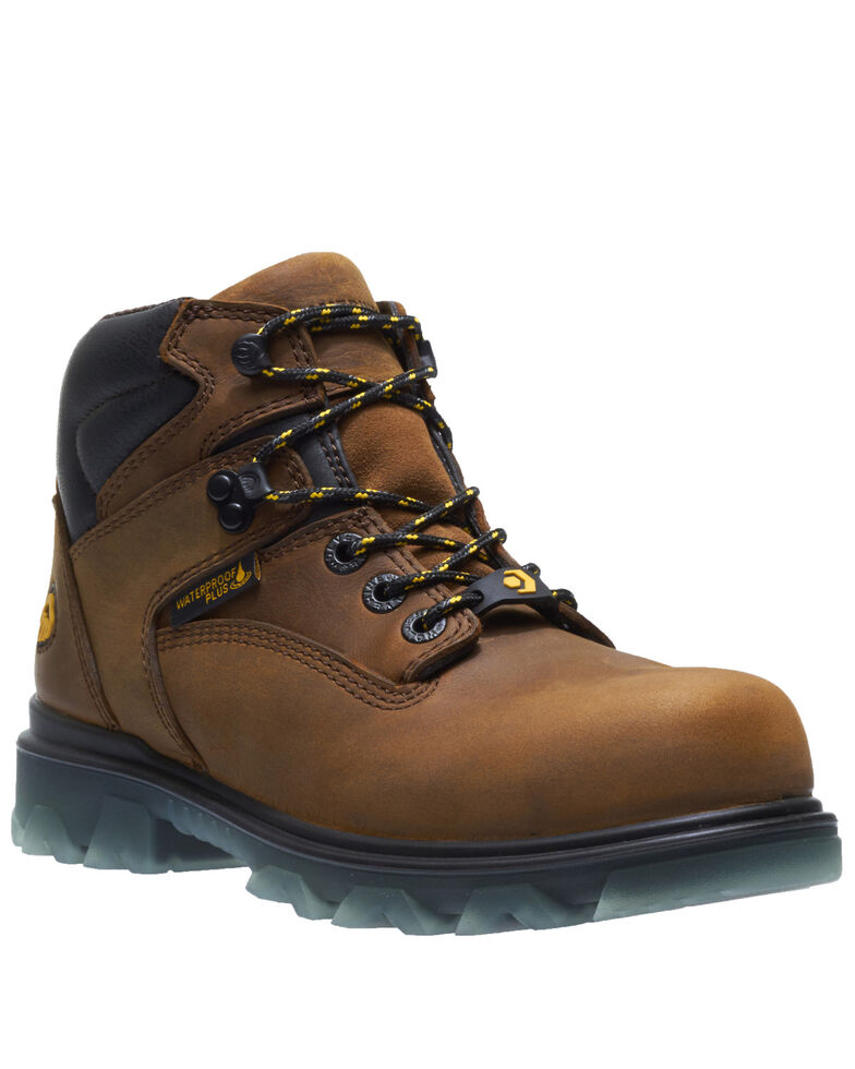 Wolverine Women's I-90 EPX Work Boots - Composite Toe, Brown, hi-res