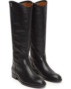 80655f644723 Frye Women s Black Melissa Button 2 Tall Boots - Round Toe