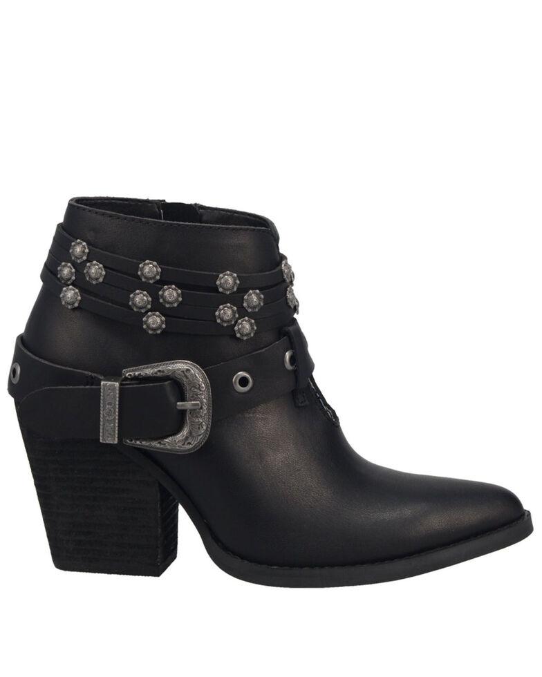 Dingo Women's Born To Run Fashion Booties - Medium Toe, Black, hi-res