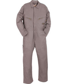 Berne Flame Resistant Deluxe Coveralls - Short (56S - 60S), Grey, hi-res