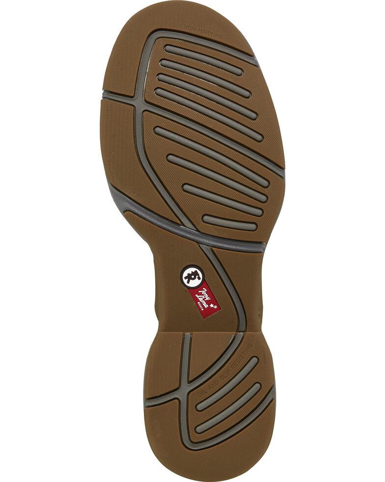 Tony Lama Men's Junction Golden Tan Western Work Boots - Round Toe, Brown, hi-res
