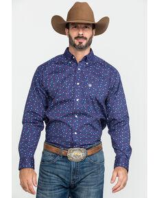 Ariat Men's Guliford Paisley Print Long Sleeve Western Shirt - Tall , Multi, hi-res