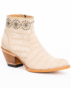 Idyllwind Women's Dreamer Booties - Medium Toe, Natural, hi-res