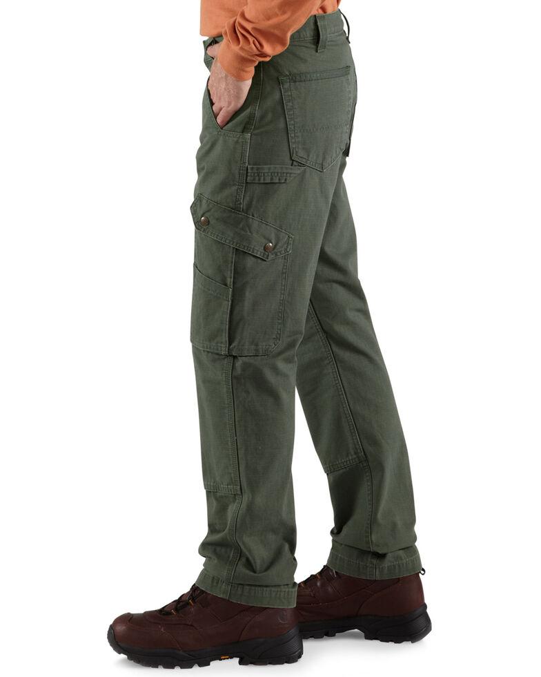 Carhartt Men's Cotton Ripstop Pants, Moss, hi-res